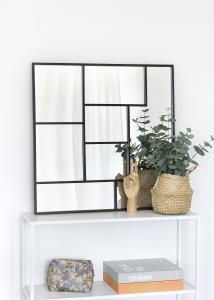 KAILA Peili Asymetric - Musta 70x70 cm