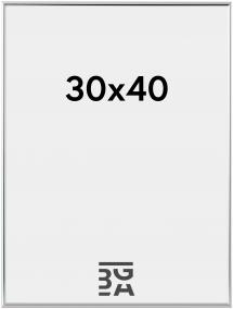 Can-Can Hopeanvärinen 30x40 cm