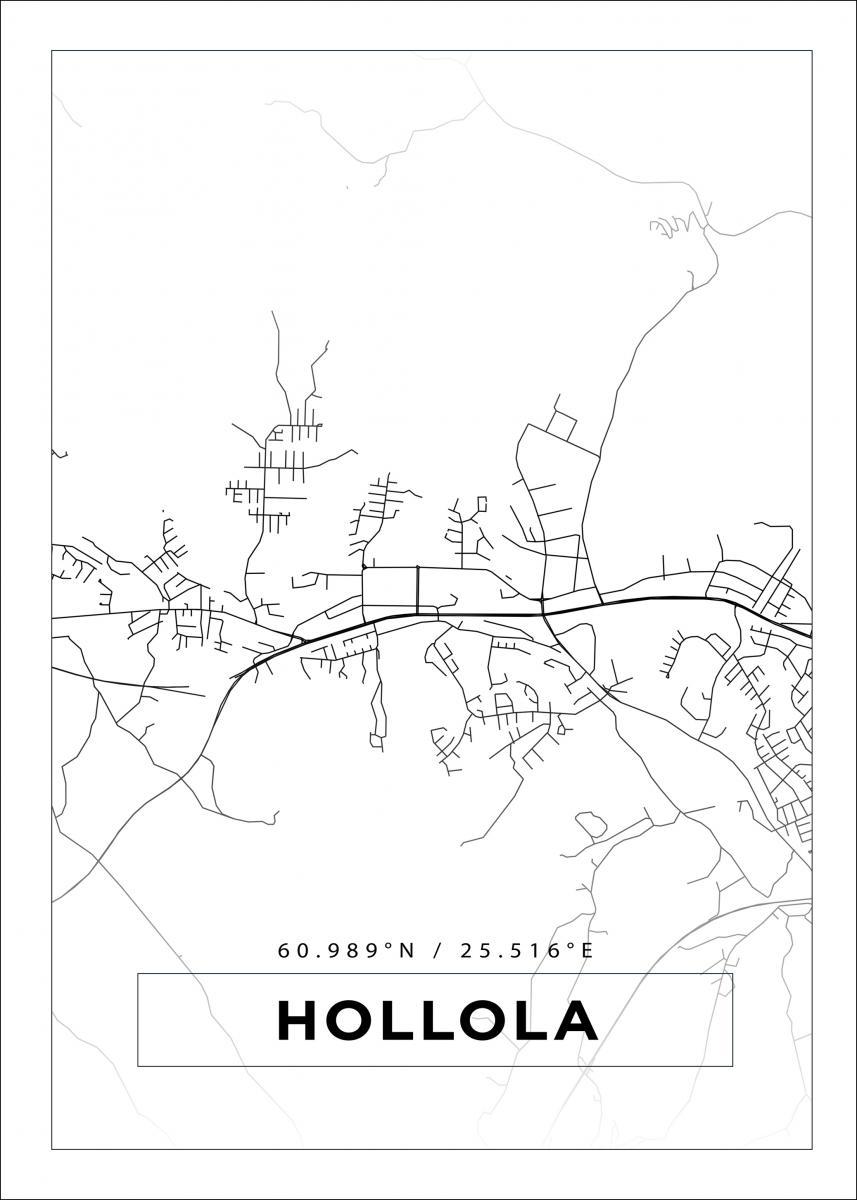 Hollola Kartta