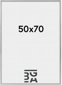 Kehys Nielsen Premium Alpha Blank Hopeanvärinen 50x70 cm