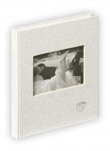 Music Vieraskirja - 23x25 cm (144 Valkoista sivua / 72 lehteä)