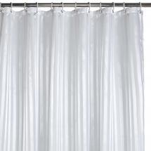 Suihkuverho - Valkoinen 180x200 cm