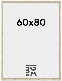 Nostalgia Hopeanvärinen 60x80 cm
