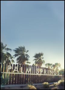 Palm Springs Juliste