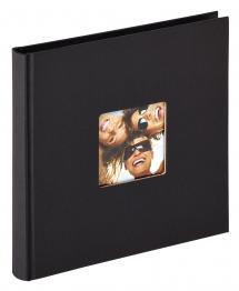Fun Musta- 18x18 cm (30 Mustaa sivua / 15 lehteä)