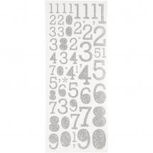 Focus Glitterstickers Hopea Numbers