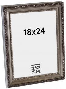 Abisko Hopeanvärinen 18x24 cm