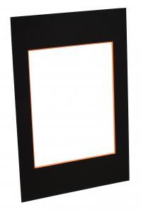 Paspatuuri Musta (Oranssi keskus) - Mittatilattu