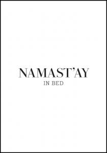 namast'ay in bed Juliste