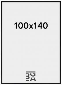 Kehys Blocky Akryylilasi Musta 100x140 cm
