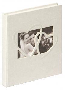 Sweet Heart Vieraskirja - 23x25 cm (144 Valkoista sivua / 72 lehteä)