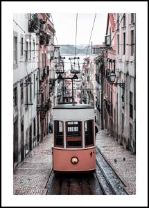 Lisbon Cable Car Juliste