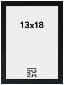 Kehys Edsbyn Musta 13x18 cm