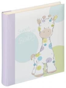 Kima Vauvan-albumi - 28x30,5 (50 Valkoisia sivua / 25 lehteä)