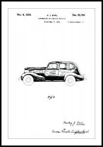 Patentti Piirustus - La Salle III Juliste