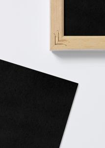 Happovapaat mustat kehyspaperit - 60x60 cm