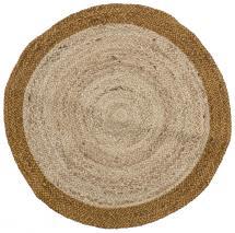 Pyöreä matto Birk - Jute 90 cm Ø