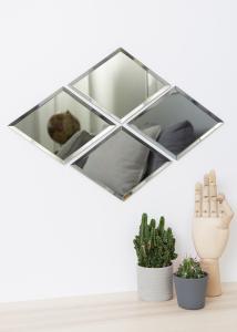 Peili House Doctor Diamond Harmaa 16x22 cm