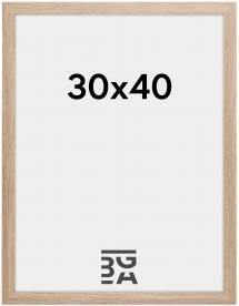 Kehys Stilren Akryylilasi Tammi 30x40 cm