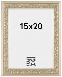 Nostalgia Hopeanvärinen 15x20 cm