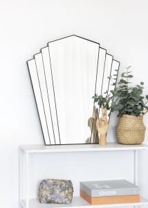 KAILA Peili Fan - Musta 63x70 cm