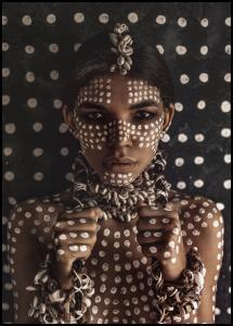 Aboriginal body art I Juliste