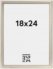 Kehys Classic Hopeanvärinen 18x24 cm