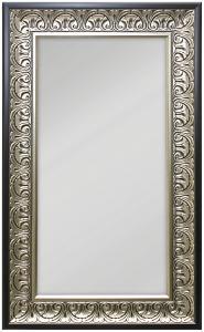 Peili Wismar Hopeanvärinen 40x80 cm