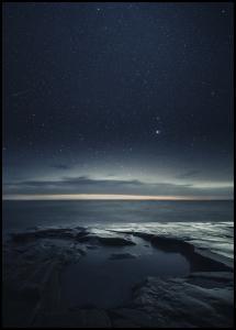 Night at the sea Juliste