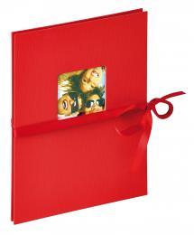 Fun Leporello Punainen- 12 kuvalle koossa 15x20 cm