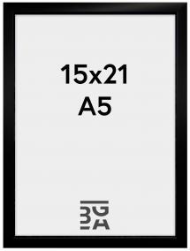 Kehys New Lifestyle Musta 15x21 cm (A5)