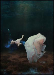 Floating in a dream Juliste