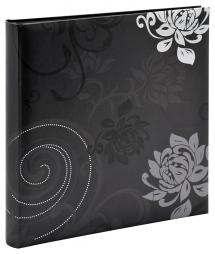 Grindy Musta - 30x30 cm (60 Mustaa sivua / 30 lehteä)