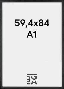 Kehys Black Wood 59,4x84 cm (A1)