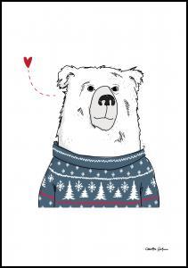 Winter Bear Juliste