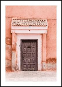 Marocco-pastell Juliste