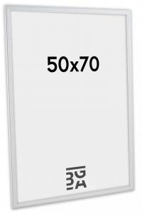 Kehys Line Valkoinen 50x70 cm