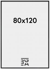 Kehys Amanda Box Akryylilasi Musta 80x120 cm