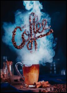 Smell the coffee Juliste