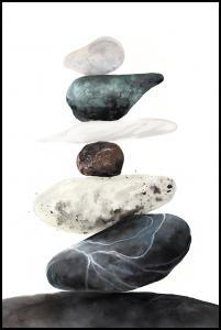 Stones from the beach Juliste