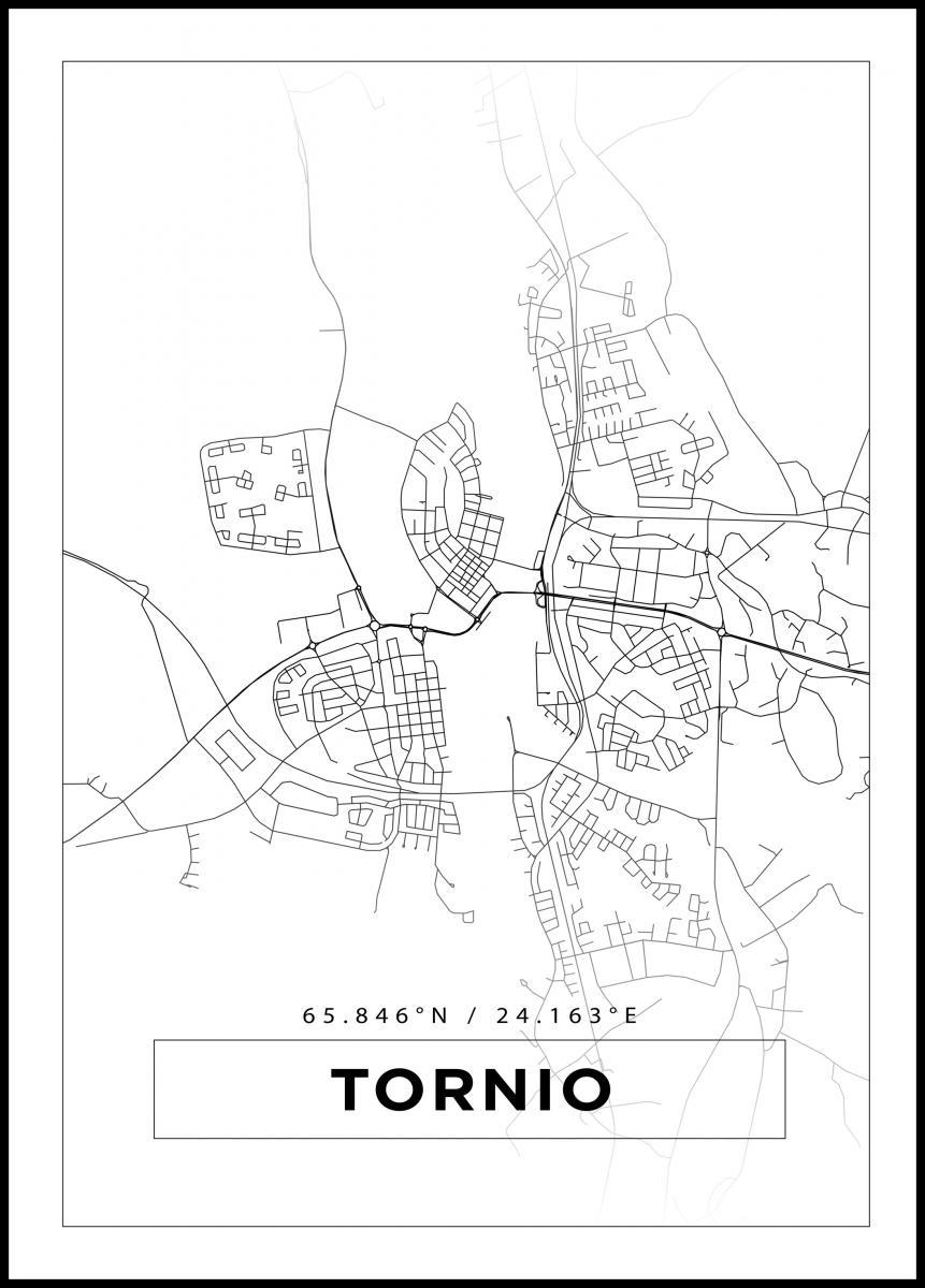 Kartta Tornio Valkoinen Bga Fi