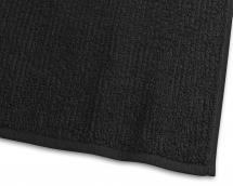 Käsipyyhe Stripe Frotee - Musta 50x70 cm