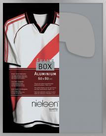 Nielsen Frame Box II Hopeanvärinen 60x80 cm