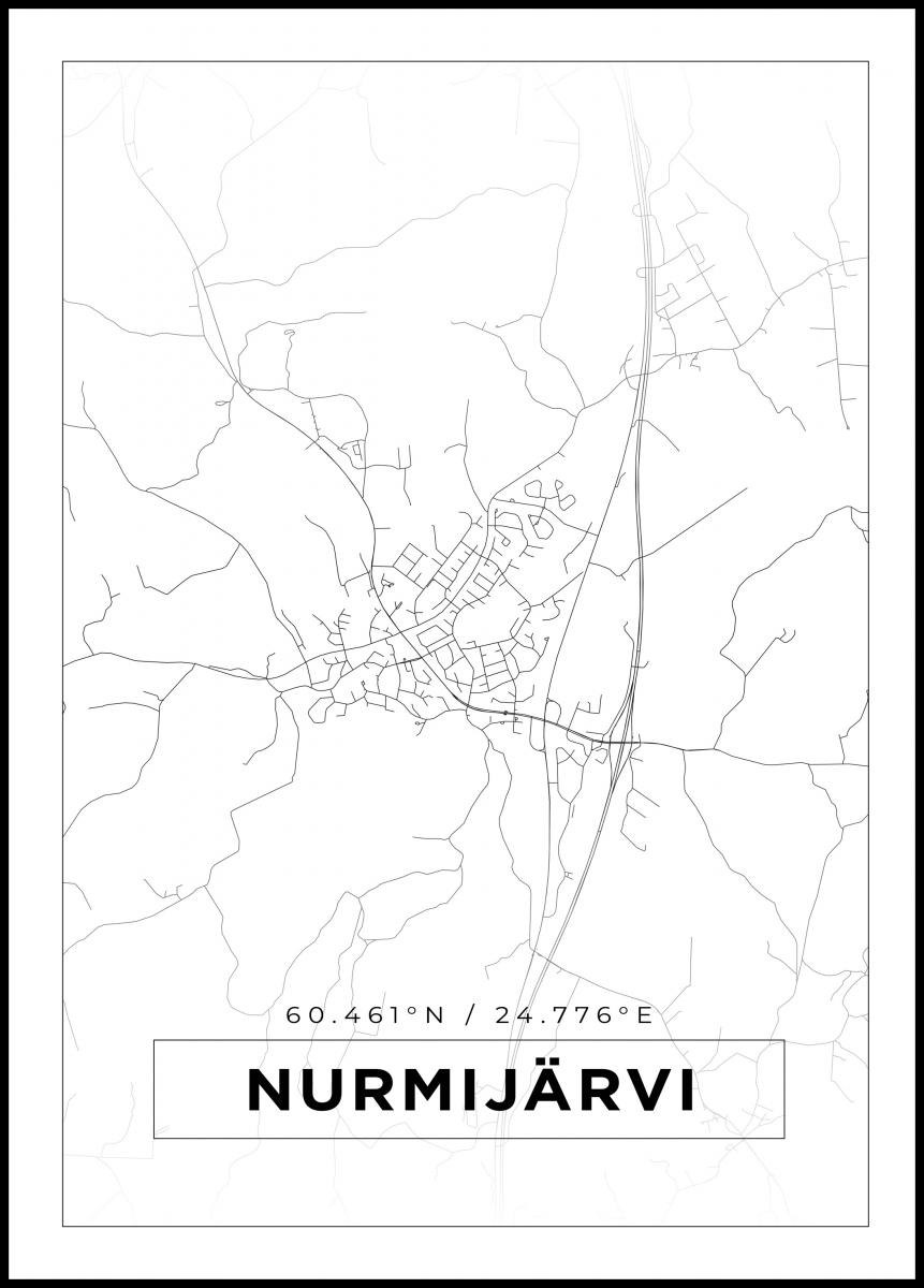 Kartta Nurmijarvi Valkoinen Bga Fi