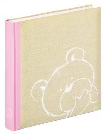 Dreamtime Vaaleanpunainen - 28x30,5 cm (50 Valkoista sivua / 25 lehteä)
