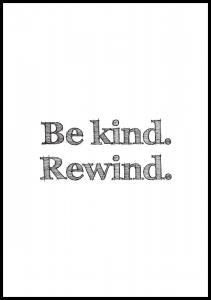 Be kind Rewind - Posteri Juliste
