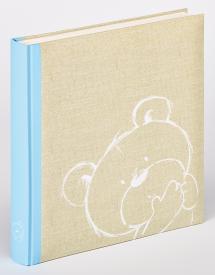 Dreamtime Sininen - 28x30,5 cm (50 Valkoista sivua / 25 lehteä)