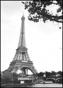 The Eiffel Tower Juliste