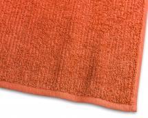 Vieraspyyhe Stripe Frotee - Oranssi 30x50 cm