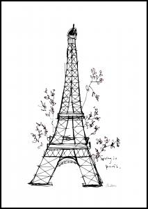 Spring in Paris Juliste